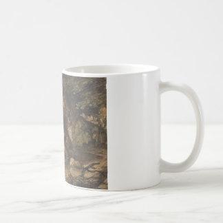Thomas Gainsborough - A Woodland Pool with Rocks Coffee Mug