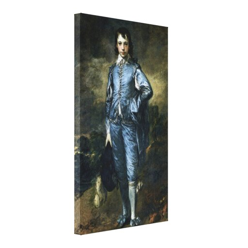Thomas Gainsborough - Boy in Blue Stretched Canvas Print