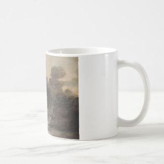 Thomas Gainsborough - Cattle Watering by a Stream Coffee Mug