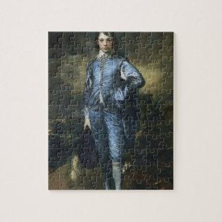 Thomas Gainsborough- el muchacho azul Puzzle