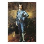 Thomas Gainsborough el muchacho azul Tarjeta