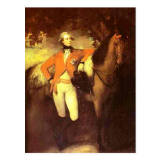Thomas Gainsborough- George, Prince of Wales Postcard