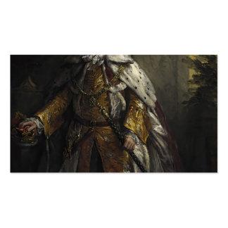 Thomas Gainsborough:John Campbell,Duke of Argyll Business Card Template