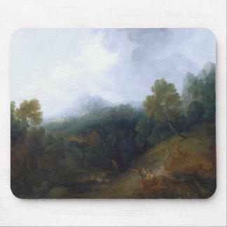 Thomas Gainsborough - Landscape with a Flock Mouse Pad