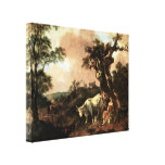 Thomas Gainsborough - Lumberjack Gallery Wrapped Canvas