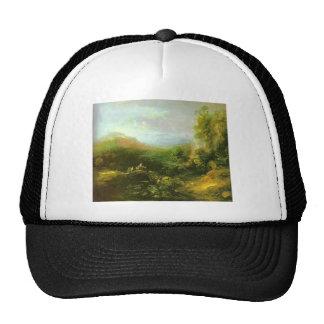 Thomas Gainsborough- Mountain Landscape, Bridge Hat
