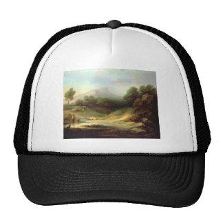 Thomas Gainsborough- Mountain Landscape,Shepherd Mesh Hats