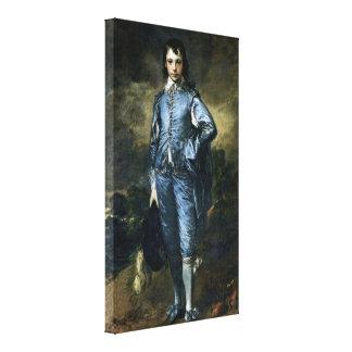 Thomas Gainsborough - muchacho en azul Impresión En Tela