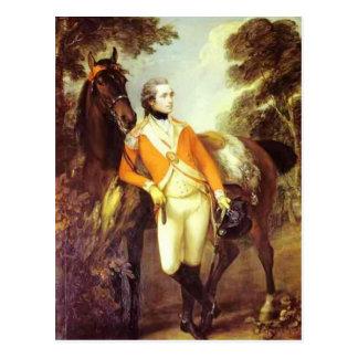 Thomas Gainsborough- Portrait of John St. Leger Postcard