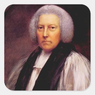 Thomas Gainsborough- Richard Hurd, Bishop Square Sticker