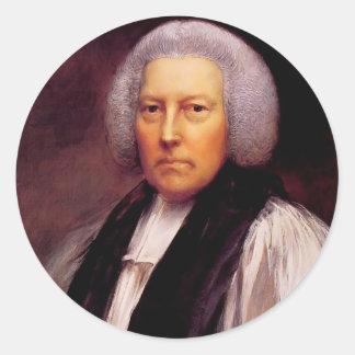 Thomas Gainsborough- Richard Hurd, Bishop Classic Round Sticker