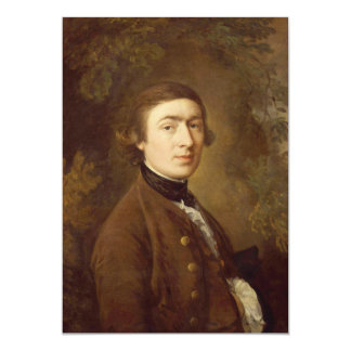 Thomas Gainsborough Self-portrait 1759 Card