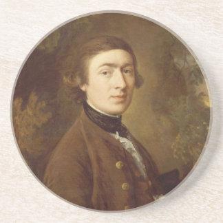 Thomas Gainsborough Self-portrait 1759 Coaster