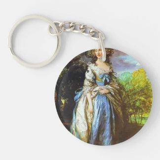 Thomas Gainsborough- Sophia Charlotte Key Chain