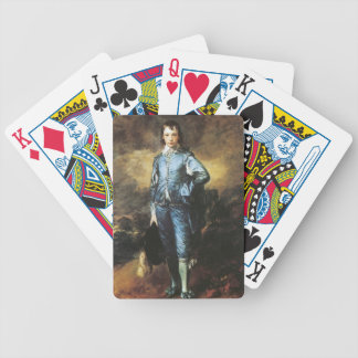 Thomas Gainsborough The Blue Boy Bicycle Playing Cards