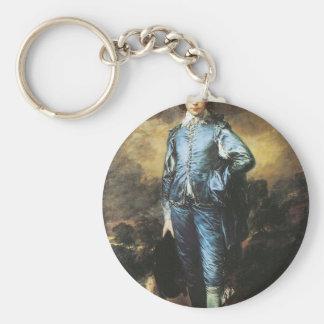 Thomas Gainsborough The Blue Boy Keychain