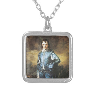 Thomas Gainsborough The Blue Boy Silver Plated Necklace
