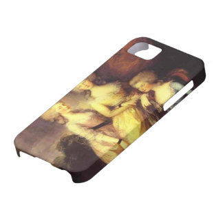 Thomas Gainsborough-Three daughters of George III iPhone 5 Cover