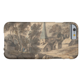 Thomas Gainsborough - Travellers on Horseback Barely There iPhone 6 Case