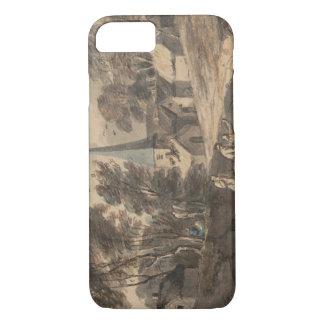 Thomas Gainsborough - Travellers on Horseback iPhone 7 Case