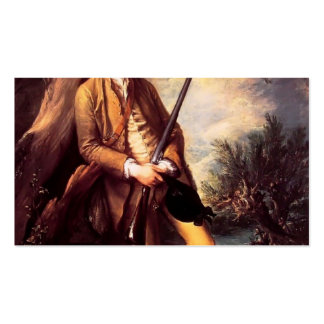 Thomas Gainsborough- William Poyntz of Midgham Double-Sided Standard Business Cards (Pack Of 100)