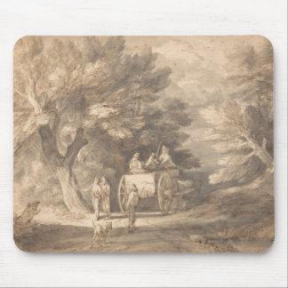 Thomas Gainsborough - Wooded Landscape Mouse Pad