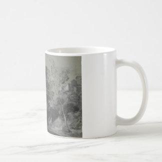 Thomas Gainsborough - Wooded Landscape with Figure Coffee Mug