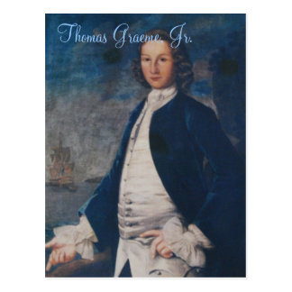 Thomas Graeme, Jr. Postales