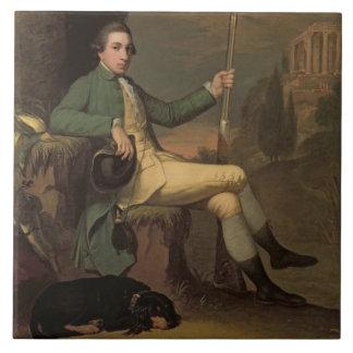 Thomas Graham, Baron Lynedoch (1748-1843) c.1769 ( Tile