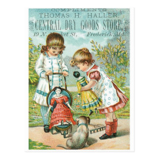 Thomas H Haller Central Dry Goods Store Postcard