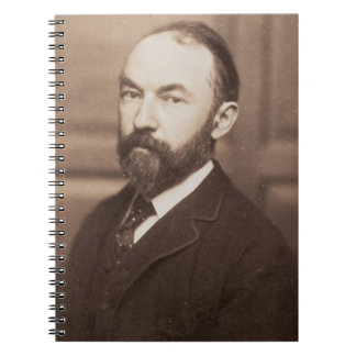 Thomas Hardy (1840-1928) (foto de la sepia) Libretas Espirales