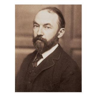 Thomas Hardy (1840-1928) (foto de la sepia) Postal