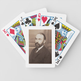 Thomas Hardy (1840-1928) (sepia photo) Bicycle Playing Cards