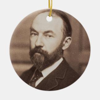 Thomas Hardy (1840-1928) (sepia photo) Ceramic Ornament
