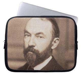 Thomas Hardy (1840-1928) (sepia photo) Laptop Sleeves