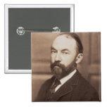 Thomas Hardy (1840-1928) (sepia photo) Pinback Button