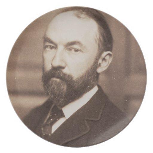 Thomas Hardy (1840-1928) (sepia photo) Plates