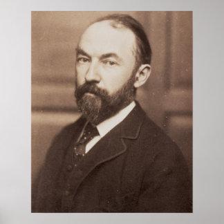 Thomas Hardy (1840-1928) (sepia photo) Poster
