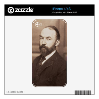 Thomas Hardy (1840-1928) (sepia photo) Skins For iPhone 4S