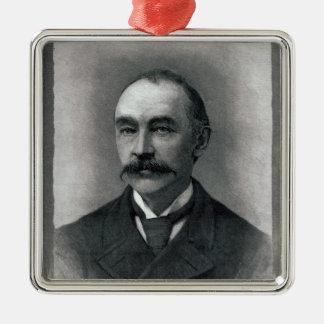 Thomas Hardy, 1892 Metal Ornament
