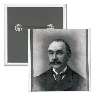 Thomas Hardy, 1892 Pinback Button