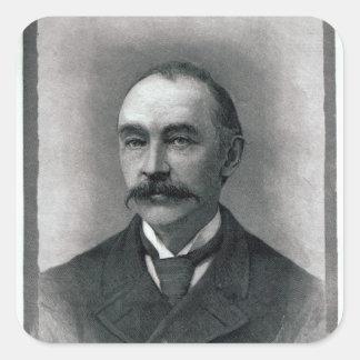 Thomas Hardy, 1892 Square Sticker