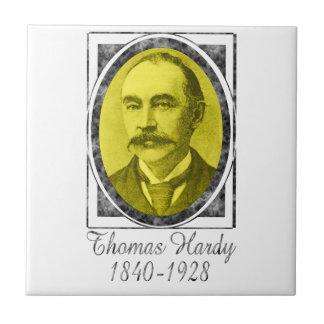 Thomas Hardy Azulejo Cuadrado Pequeño