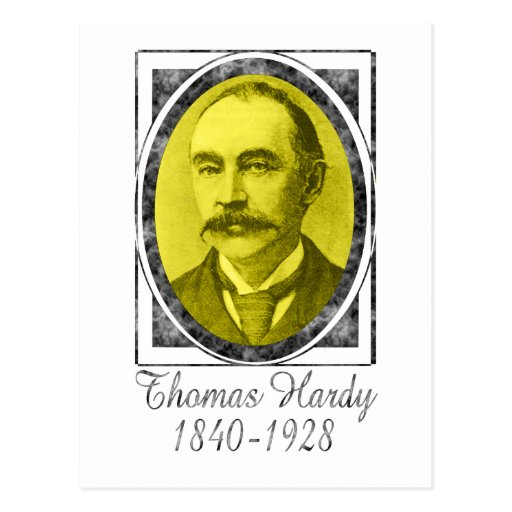 Thomas Hardy Postcard