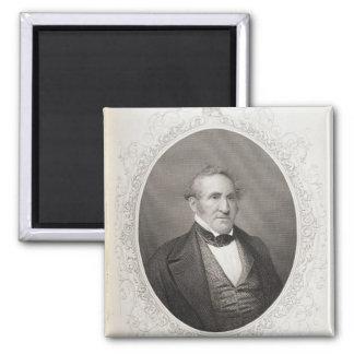 Thomas Hart Benton 2 Inch Square Magnet