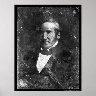 Thomas Hart Benton Daguerreotype 1845 Poster