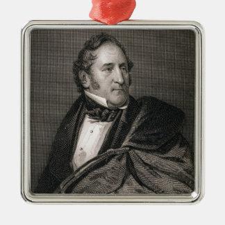 Thomas Hart Benton, engraved by William G. Armstro Christmas Ornament