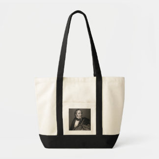 Thomas Hart Benton, engraved by William G. Armstro Tote Bag
