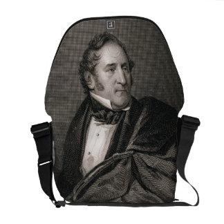Thomas Hart Benton, grabado por Guillermo G. Armst Bolsa De Mensajeria
