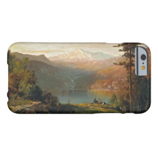 Thomas Hill - Indian by a Lake in a Majestic Barely There iPhone 6 Case